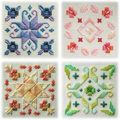 This is just one of several beautiful designs on my hardanger wish list, you can… Types Of Embroidery, Learn Embroidery, Embroidery Patterns, Hand Embroidery, Cross Stitch Fabric, Cross Stitching, Cross Stitch Embroidery, Cross Stitch Patterns, Swedish Weaving Patterns