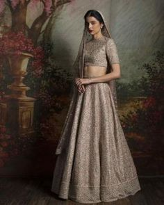 Sabyasachi Bridal Lehenga Online on Happy Shappy. Browse trending collection and price range for bridal and wedding. You can also find 2020 latest design, replica, red designs and rent in Delhi. Sabyasachi Dresses, Sabyasachi Lehenga Bridal, Bridal Lehenga Online, Floral Lehenga, Designer Bridal Lehenga, Indian Bridal Lehenga, Anarkali, Party Wear Lehenga, Lehenga Collection