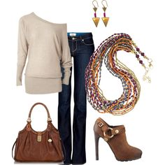 """Casual Fall Outfit"" by corifuqua on Polyvore"