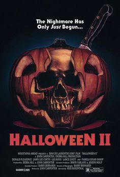 Fan made Halloween 2 poster by Sadist Art Designs.