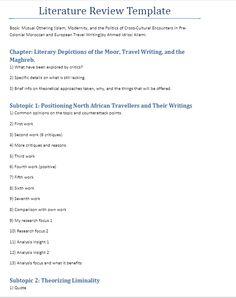 Apa literature review outline example professional stuff kerangka kajian literatur literature review template pronofoot35fo Images