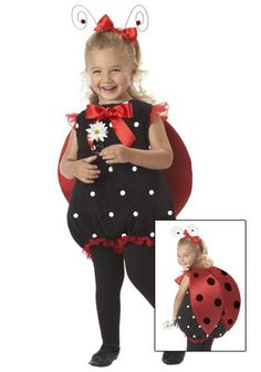 This Infant Lady Bug Costume is as cute as can be, and your child will love it! We also have lady bug costumes in child and adult sizes.