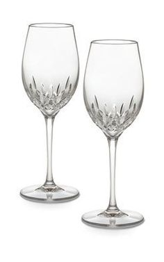Waterford Crystal Lismore Essence White Wine Glass Set of 2 >>> Want to know more, click on the image.Note:It is affiliate link to Amazon.