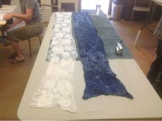 What's new at Spirited Hands Studio?: Pine needle/nuno workshop Leiko instructor