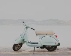 Mint Vespa by Hello Twiggs on Crated Scooter Girl, Canvas Prints, Art Prints, Vespa, Mint, Motorcycle, Scooters, Vintage, Random