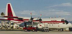 Lockheed C-130A Hercules N135FF.