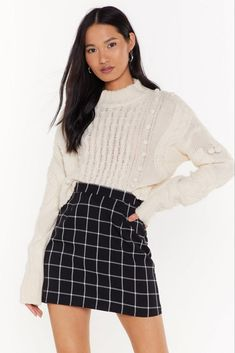 No need to skirt around it! You'll love love Nasty Gal's new mini, midi & maxi skirts. Cute Casual Outfits, Fall Outfits, Fashion Outfits, Christmas Outfits, Formal Outfits, Fashion Skirts, Christmas 2019, Fashion Styles, Hijab Fashion