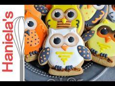 Halloween Owls Cookies http://www.youtube.com/watch?v=bT5OI6YI3RU