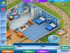 Virtual Families 2, House Ideas, Mansions, House Styles, Home Decor, Games, Decoration Home, Manor Houses, Room Decor