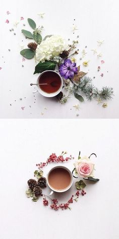 Fancy a beautiful cup of tea ? Julia who lives on the South Coast of England loves morning tea, sassy shapes, fresh flowers and all . Coffee Love, Coffee Art, Coffee Break, Coffee Shop, Coffee Cups, Tea Cups, Coffee & Tea, Cup Of Tea, Coffee Mornings