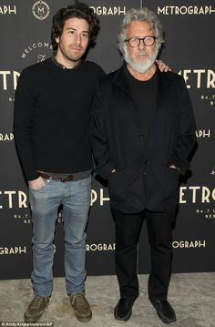 Flourishing family: Father-of-six Dustin Hoffman with son Jake, who is also an actor Dustin Hoffman, American Actors, Kids And Parenting, Families, Parents, Father, Celebrity, Hollywood, Hero