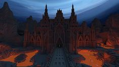 This architectural beauty inside the dark, parallel world of The Nether would make for a great desktop wallpaper. Grab the hi-res version here. Image courtesy of UltramarineXIII.