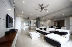 20 Luxurious Designs of Condo Living Rooms