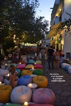 Maxilales bar/restaurant on Skiathos island, Sporades, Greece Cozy bar at Skiathos Island, Greece. Oh The Places You'll Go, Places To Travel, Places To Visit, Skiathos Island, Parc A Theme, Cozy Bar, I Want To Travel, Adventure Is Out There, Greece Travel