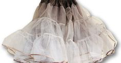 Crinolines are worn with 1950s style dresses, prom gowns and wedding dresses. A crinoline provides a dress with body and that all-essential pouf factor. Crinolines can be ...