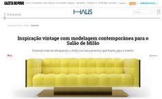Gazeta do Povo (BR) #marionisrl #notorious #xlux #salonedelmobile