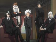 bleach anime in suits