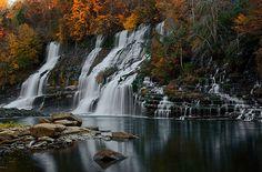 Prettiest Waterfall in Tennessee!  Rock Island