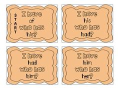 """""""I have, who has?"""" First Grade Sight Words"""