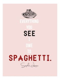 "alt=""food quote sofia loren"""
