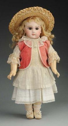 Spectacular Early Jumeau Bébé Doll. : Lot 213