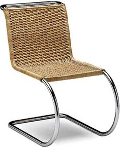 Mies Van der Rohe Cantilever Cane Chair