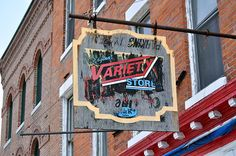 Original Variety Store ghost sign, Syracuse