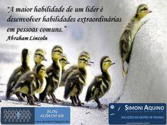 Líder e as pessoas comuns, por Abraham Lincoln