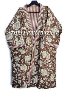 Cotton Kimono, Cotton Jacket, Winter Kimono, Kimono Dressing Gown, Woolen Scarves, Traditional Kimono, Cotton Quilts, Cotton Throws, Kimono Jacket