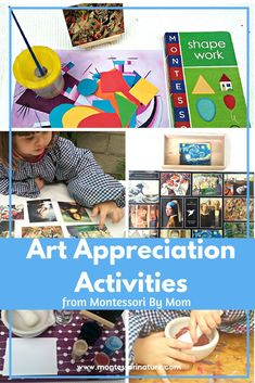 Montessori Nature: Art Appreciation Activities from Montessori By Mom.