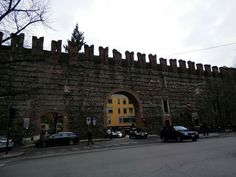 This wall surrounding Verona Italy is over 2000 years old!