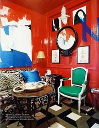 Miles Redd...red lacquer fabulousness!