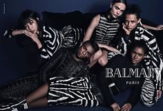 Cara Delevingne, Jourdan Dunn for Balmains Fall 2014 Ads