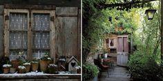 Le trompe l'oeil : une excellente idée pour habiller un mur au jardin