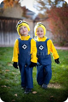 Despicable Me Costume Minions Twinkle Photography Denver, CO