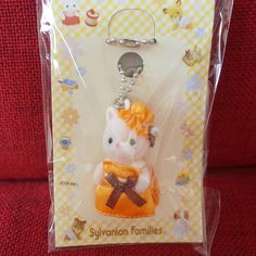 Sylvanian Families DEER BABY KEY CHAIN Epoch Japan Calico Critters