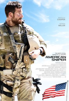 Release date: January 2015 (USA) Director: Clint Eastwood Running time: 134 minutes MPAA rating: R Story by: Chris Kyle U. Navy SEAL Chris Kyle (Bradley Cooper) takes his sole mission —… The Sniper, Action Movies, Hd Movies, Film Movie, Plane Movies, 2015 Movies, Cinema Movies, Chris Kyle, Bradley Cooper