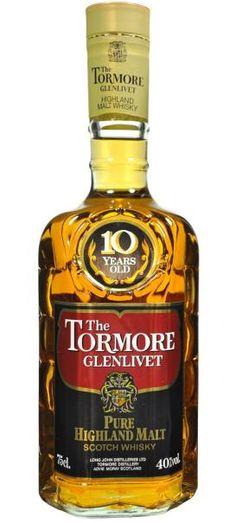 Tormore-Glenlivet 10 yo Pure Highland Malt bottled in 80's