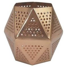 Pencil Cup Perforated Copper - Threshold™ : Target