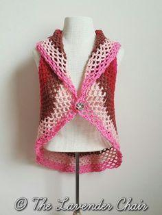 Pocket Full of Posies Vest - Free Crochet Pattern - The Lavender Chair 2