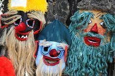 Romania - Wikipedia, the free encyclopedia folk masks Folk Costume, Costumes, Arte Popular, Folk Art, Beast, Traditional, Pictures, Handmade, Painting