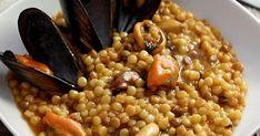 My Ricettarium: Fregola sarda con cozze