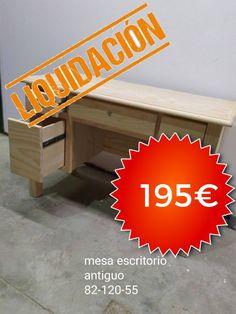 Debido a la situación actual  #COVID19 nos vemos en la obligación  🔔LIQUIDACIÓN POR CIERRE DE TIENDA🔔   🌏Costes de envió 9,90€ 🌏 📌Ultimas unidades por debajo de precio de coste❗️❗️  📌 En cada foto indica las medidas❗️❗️  Llámanos o envíanos un whatsapp 📲 693 23 13 63🏃🏼♀️🏃🏼♀️que vuelan. - - - - #decoracion #mueble #pintado #hogar #interiordesign #diseño #follow #home #deco #furniture #lackestuc #casa #interiorismo #design #backpackers #decoración #decoration #homedecor #vintage Interiores Design, Old Desks, Table Desk, Tent, Mesas, Home