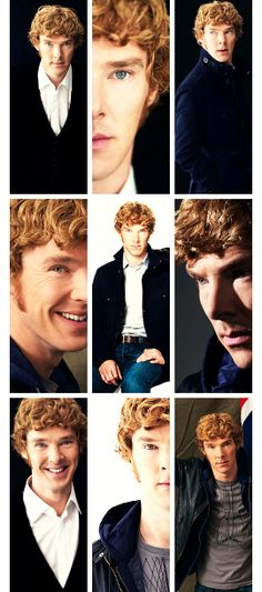 Benedict Cumberbatch AMGAR he's a ginger