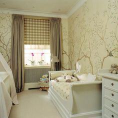 Beautiful girl's room in a London