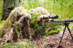 Junior Sniper & Spotter Team at Woodoak Wilderness, Surrey, England UK www.woodoak.co.uk