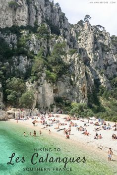 Hiking Les Calanques in Southern France | Hike to bright green waters near Cassis, France
