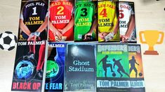 """""""⚽🏆📖 """"They think we don't have good well we do now!"""" 👏🏟🎉 Introducing our new fantastic range for footie fans from all leagues. A fab squad of authors including Combes, Gibbons and Morgan. Available for team transfers soon! School Displays, Pitch, Authors, Squad, Fiction, Fans, Football, Baseball Cards, Learning"""