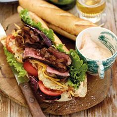 The braai gatsby recipe South African Recipes, Ethnic Recipes, Braai Recipes, Masala Spice, Steak Salad, Sweet Wine, Lunch Menu, Gatsby, Snacks
