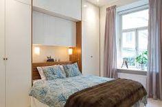 skåp sovrum inbyggd säng - Google Search